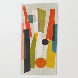 Sticks and Stones Beach Towel