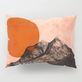 Abstraction_SUN_Mountains_Peak_Minimalism_002 Pillow Sham