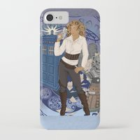 river song iPhone & iPod Cases featuring River Song by Saintash