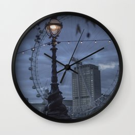 London - A moment when anything can happen, anything be believed in Wall Clock