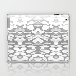 Winter has Come, Silver Romantic Nights Laptop & iPad Skin