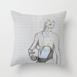 Pretty Boy Walking Throw Pillow