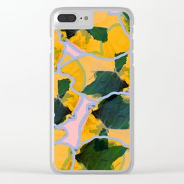Orangey Clear iPhone Case