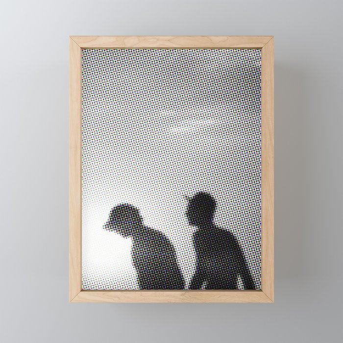beachboys Framed Mini Art Print