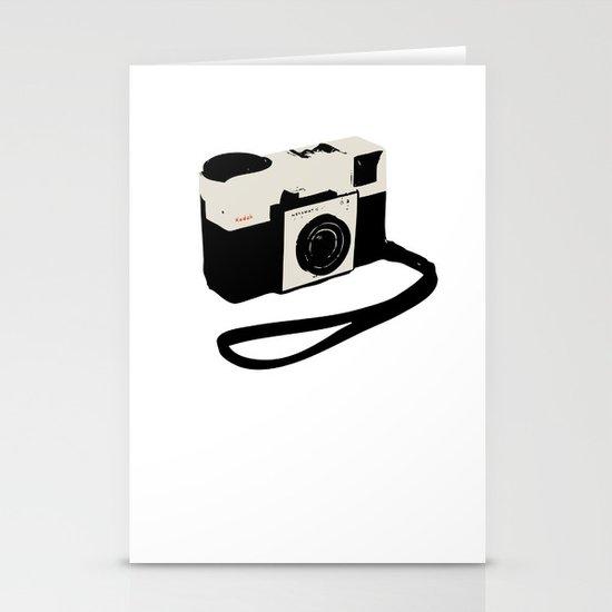 ivory kodak instamatic camera Stationery Cards