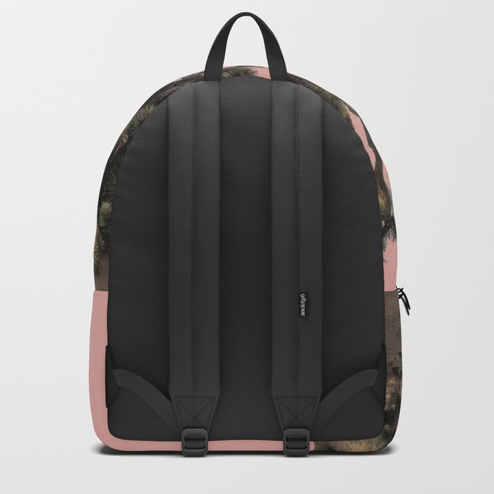 pink joshua tree Backpack