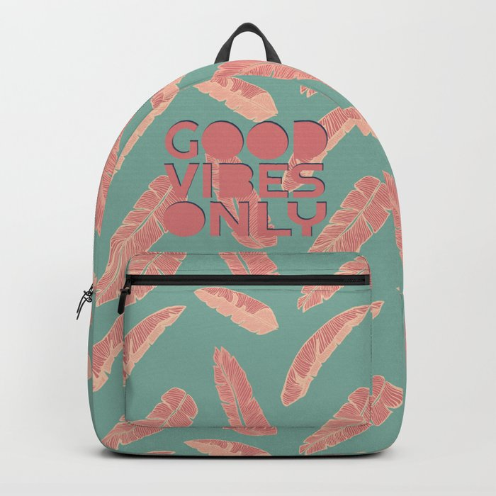 GOOD VIBES ONLY #society6 #decor #buyart Backpack