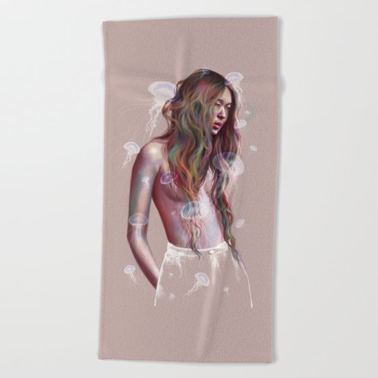 My Pulse Beach Towel