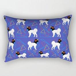 Primary Dogs - Akita Rectangular Pillow