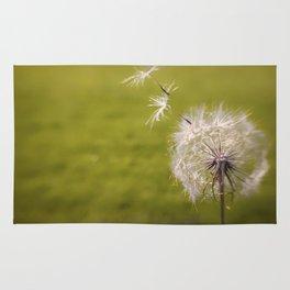 Wishing on a Dandelion Rug