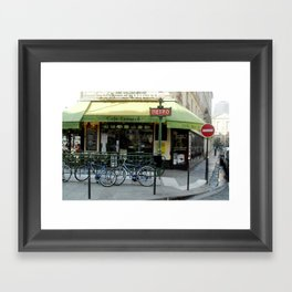 Paris Metro Framed Art Print