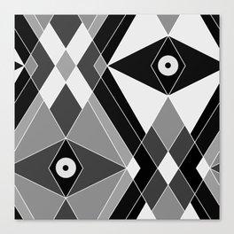 Black and white Art 2 Canvas Print