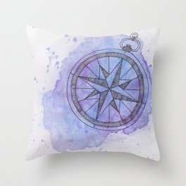Find Me in the universe Throw Pillow
