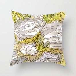 Eno River 37 Throw Pillow