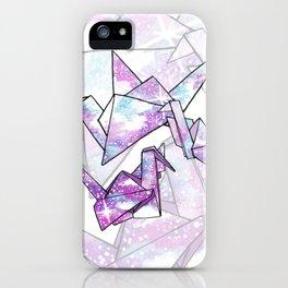 Origami Cranes iPhone Case