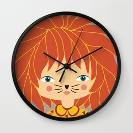 Zodiac - Leo  Wall Clock
