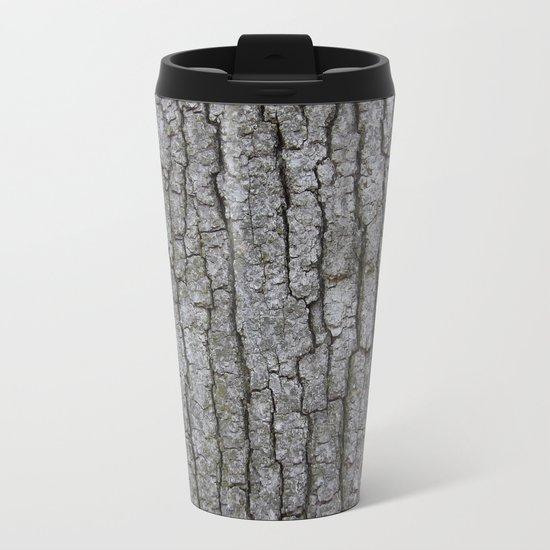 white oak bark Metal Travel Mug