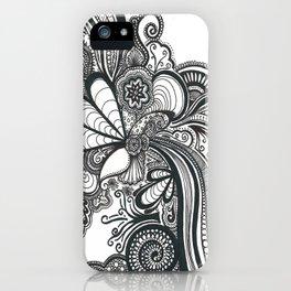 Doodle 1 iPhone Case