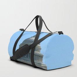 Capitol View With Reflection Pool Washington DC Duffle Bag