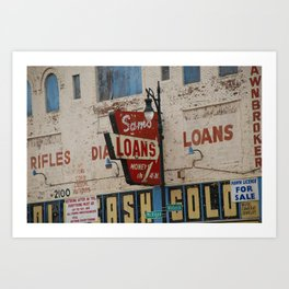 Wabash & Michigan Art Print