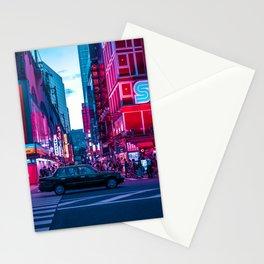 Evening sights of Akihabara Stationery Cards