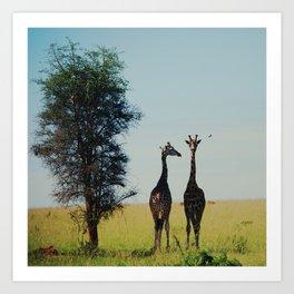 two tall.  Art Print