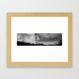 Cloud Land Framed Art Print