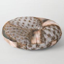 Prickly Pear - Opuntia Chlorotica Floor Pillow