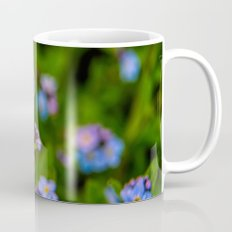 Forget-me-nots In The Rain Mug