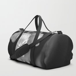 Black and white lily of the valley Duffle Bag