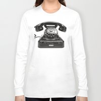 anonymous Long Sleeve T-shirts featuring Anonymous by bravo la fourmi