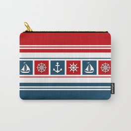 Nautical symbols Carry-All Pouch