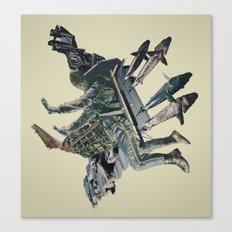 The Burden Canvas Print