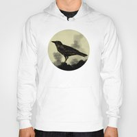 crow Hoodies featuring Crow by Arts and Herbs