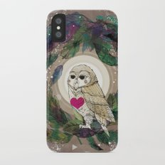 The Great Owl iPhone X Slim Case
