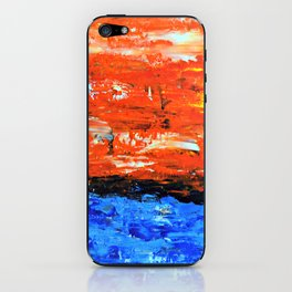 Color Combo #3 iPhone Skin