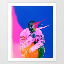 A$AP FERG Art Print