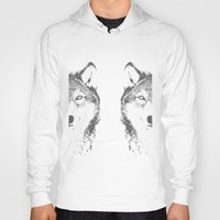 wolves Hoodies featuring WOLVES by Aonair Designs