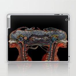 Brain connected cyborgs. Inner view Laptop & iPad Skin