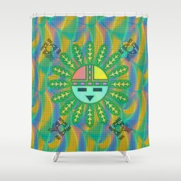 Kachina Weave Shower Curtain