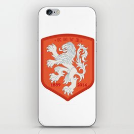 Holland 2014 Brasil World Cup Crest iPhone Skin