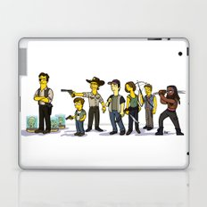 The Walking Dead cast Laptop & iPad Skin