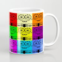 spongebob Mugs featuring Spongebob by chauloom