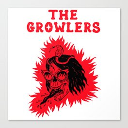 the growlers tongue tour 2020 ngamein Canvas Print