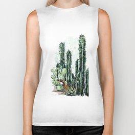 Cactus Long and a friend Biker Tank