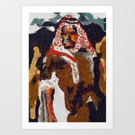 My Camel Your Camel Art Print