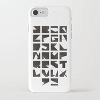 alphabet iPhone & iPod Cases featuring Alphabet by Fanny Öqvist Westerberg