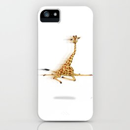 Running Giraffe / Jirafa Corriendo iPhone Case
