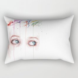 Beautiful mind Rectangular Pillow