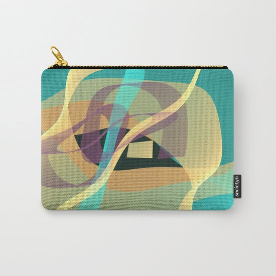 Floating in turquoise Carry-All Pouch